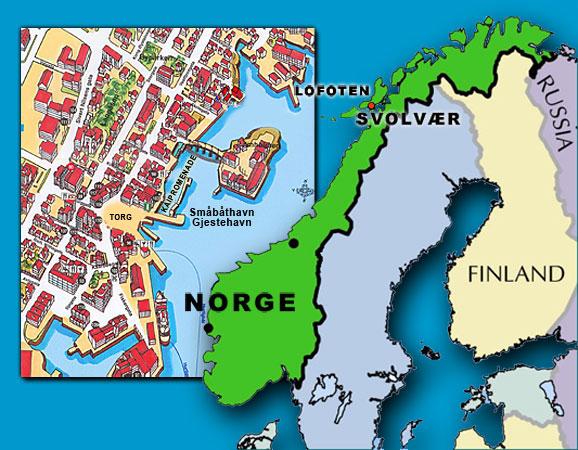 kart over svolvær Svolvær Historielag   Bykart kart over svolvær