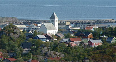 kirke utenfor svolvær
